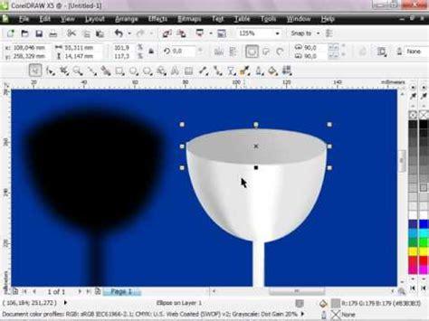 Tutorial Corel Draw X5 Bagi Pemula | tutorial bagi pemula corel draw x5 quot membuat gelas kaca 3d