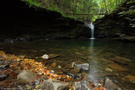 Worlds End State Park Waterfall