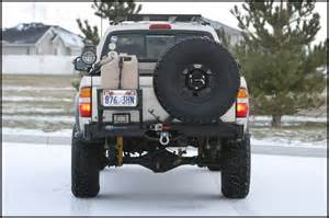 Trail Gear Swing Out Tire Carrier Mount Tacoma