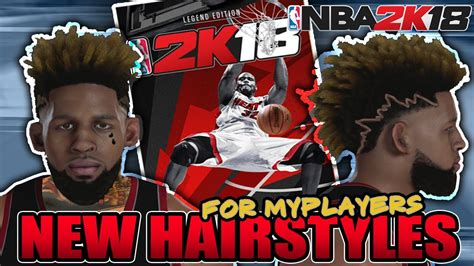 hairstyles nba 2k18 nba 2k18 leaked hairstyles for myplayers lamelo ball