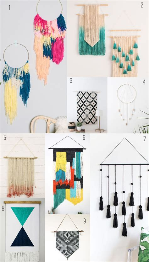 diy wall ideas 25 best ideas about wall hangings on pinterest diy