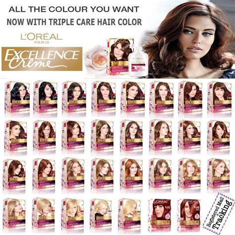 l oreal new hair color l oreal excellence creme care hair color