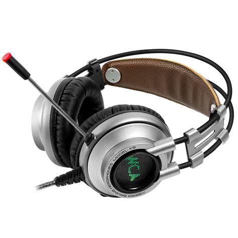 Headphones Vpt7 High Quality Hifi Gaming Headset Microphone Kinbas xiberia k9 usb wired 7 1 channel hifi noise canceling
