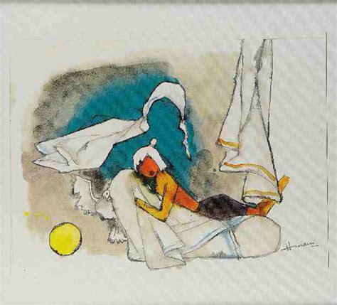 M F Hussain Sketches by Citi India Corporate Collection M F Husain