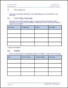 availability sheet for work template sdlc planning phase availability plan template an