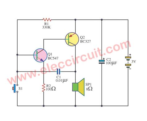 forget door alarm circuit electronic circuit projects