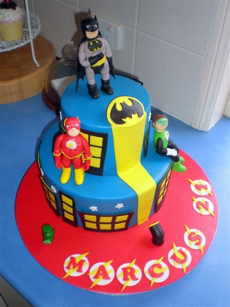 Or Cake Sugar Siren Cakes Mackay Justice League Cake