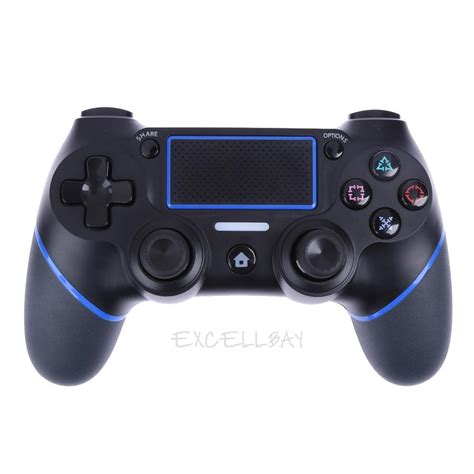 Sony Stik Ps4 Wireless Blue wireless bluetooth remote controller gamepad joystick for