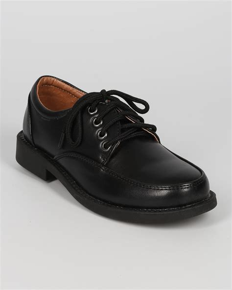 school shoe occasions school rider bc67 leatherette toe lace up