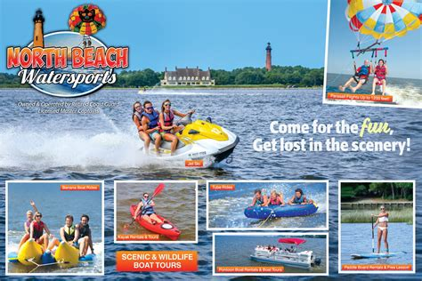 boat rentals north myrtle beach north beach watersports outerbanks