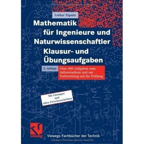 Mathematik F 252 R Ingenieure Und Naturwissenschaftler