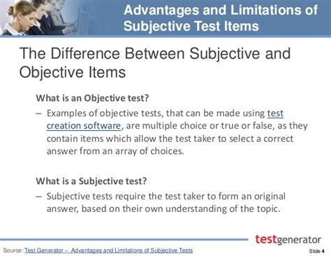 exles of objective and subjective statements difference between objective and subjective difference