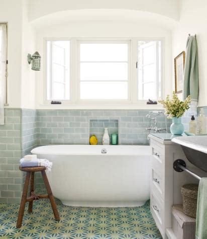 this old house bathroom remodel tunis cement tiles in a beautiful bathroom on this old