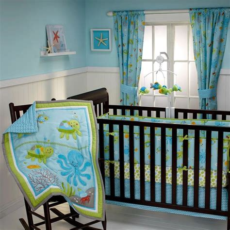 ocean crib bedding 25 best baby boy under the sea nursery images on pinterest