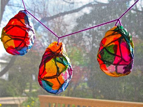 Tissue Paper Lantern Craft - lanterns to lighten the world galloway friends