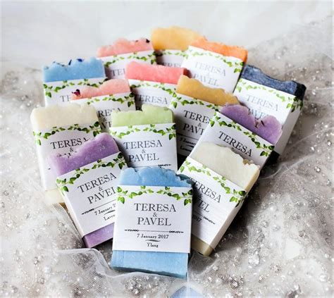 Wedding Favors Soap by 50 Wedding Soap Favors Handcrafted Custom Favours