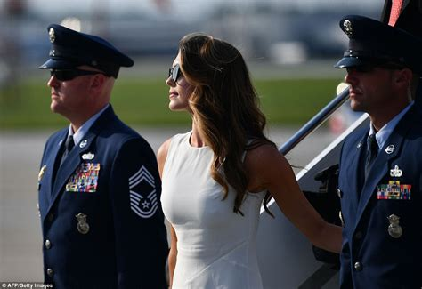 hope hicks speech hope hicks touches down in ohio for president trump s