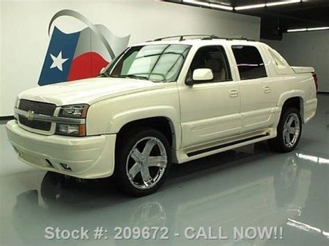 chevrolet southern comfort purchase used 2006 chevy avalanche southern comfort