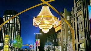 Cleveland Chandelier World S Largest Outdoor Chandelier To Illuminate Cleveland
