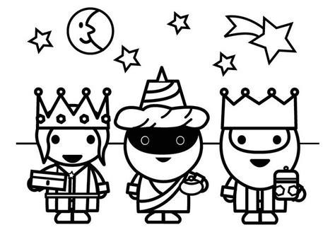 imagenes reyes magos para niños dibujo para colorear reyes magos img 26426