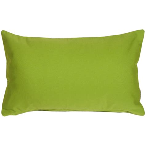 Green Pillow by Sunbrella Macaw Green 12x20 Outdoor Pillow From Pillow Decor