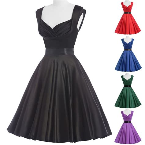 vintage swing kleid vintage kleid 50er 60er jahre petticoat abendkleid swing