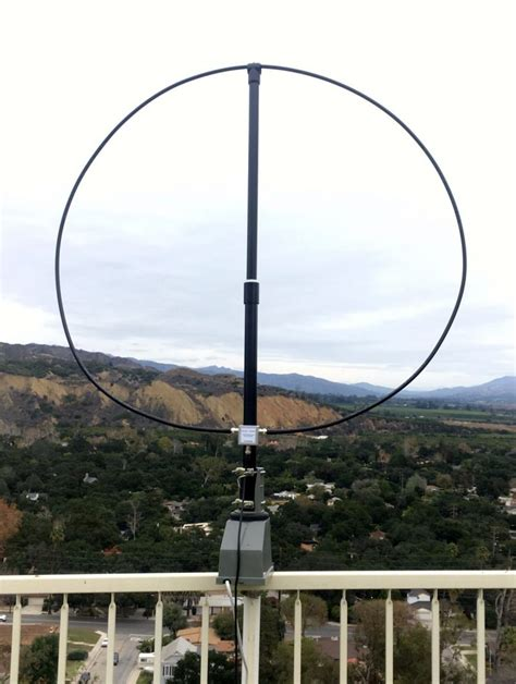 Home Room Design by The W6lvp Magnetic Loop Antenna The Swling Post