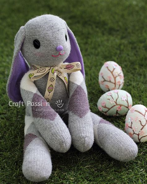 sock or bunny follower 15 diy easter gifts ideas your must a diy projects