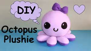 octopus template diy octopus plushie with free templates