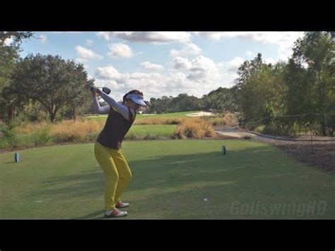 justin rose swing vision anthony kim swing driver down the line