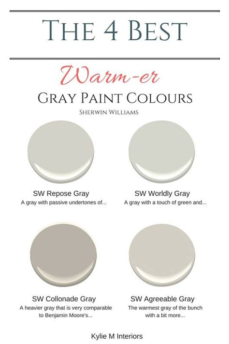 the 4 best warm gray paint colours sherwin williams warm gray paint worldly gray and