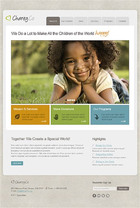 Top 12 Responsive Ngo Charity Church Joomla Templates Charity Website Templates