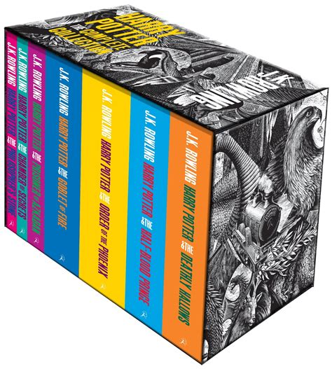 7 Great Sts For Collecting by Harry Potter The Complete Collection 7 Books Set Box