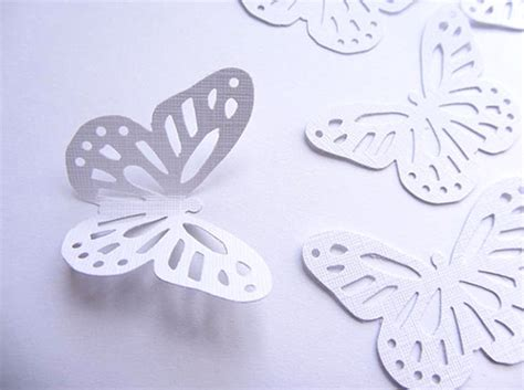 Paper Butterfly Craft - 13 psd paper butterfly templates designs free