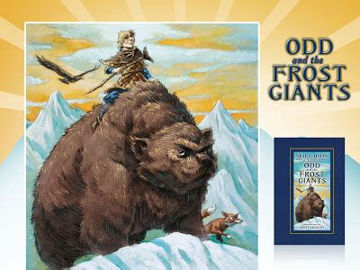 odd and the frost book adventures mg odd the frost giants by neil gaiman food