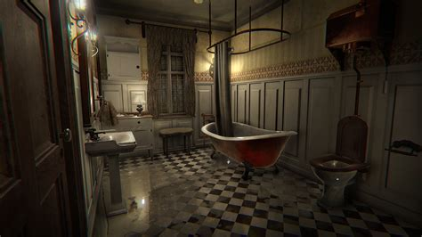 fear of using the bathroom layers of fear now available on early access anjel syndicate