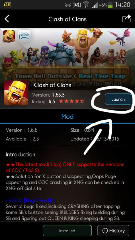 x mod games coc update cara install xmodgames untuk clash of clans alisbach