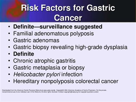 stomach cancer symptoms questionnaire gastric cancer physio