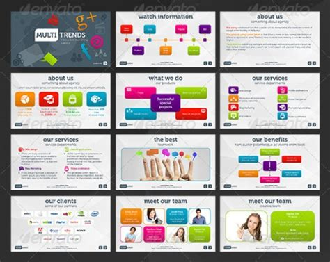 20 Best Business Powerpoint Presentation Templates Best Corporate Presentation Templates