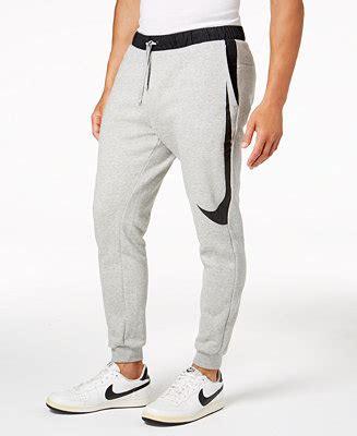 nike mens mixed media logo sweatpants reviews  activewear men macys