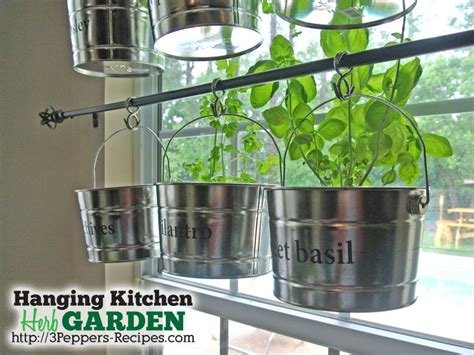 Hanging Herbs In Kitchen Window by How To Put Together Your Own Home Garden