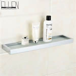 Bathroom Shower Shelves Aliexpress Buy Bathroom Glass Shelf Glass Metal Shower Shelves Bathroom Accessories From