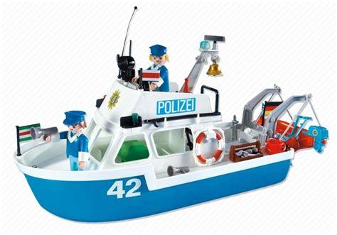 playmobil boat playmobil set 7872 police boat klickypedia
