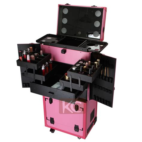 Hk Nail Trolley international makeup lighted with drawers hairdresser