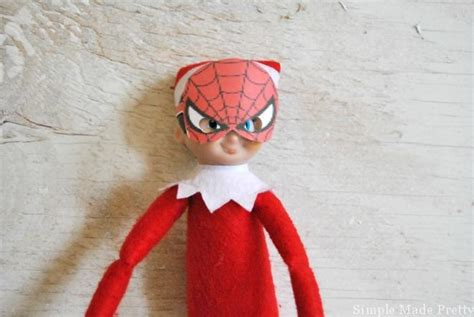 printable elf superhero free printable elf on the shelf superhero costumes