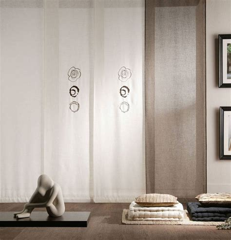 tende a pannelli per interni 50 esempi di tende a pannello moderne per interni