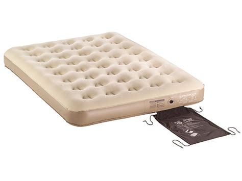 coleman quickbed suede air mattress 74 x 54 x 5 pvc