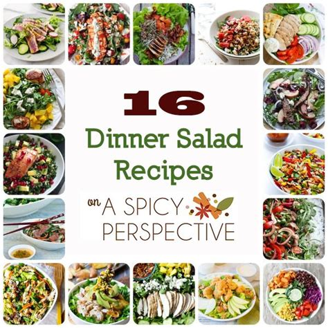 16 dinner salad recipes to help you get your greens in and