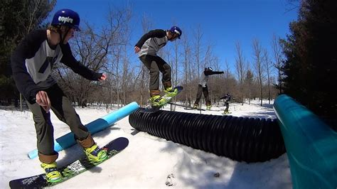 backyard snowboard r backyard snowboard edit 2013 2014 youtube
