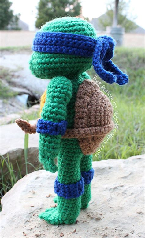 Free Pattern Ninja Turtle | crocheted teenage mutant ninja turtles